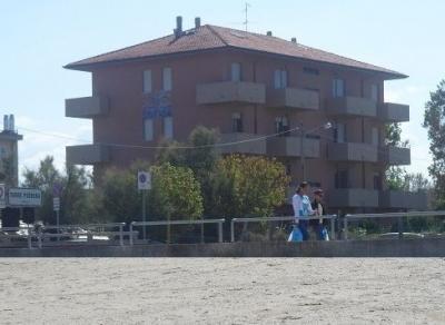 Vue de la terrasse Location Appartement 40527 Rimini