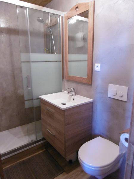 salle de bain Location Studio 407 Avoriaz