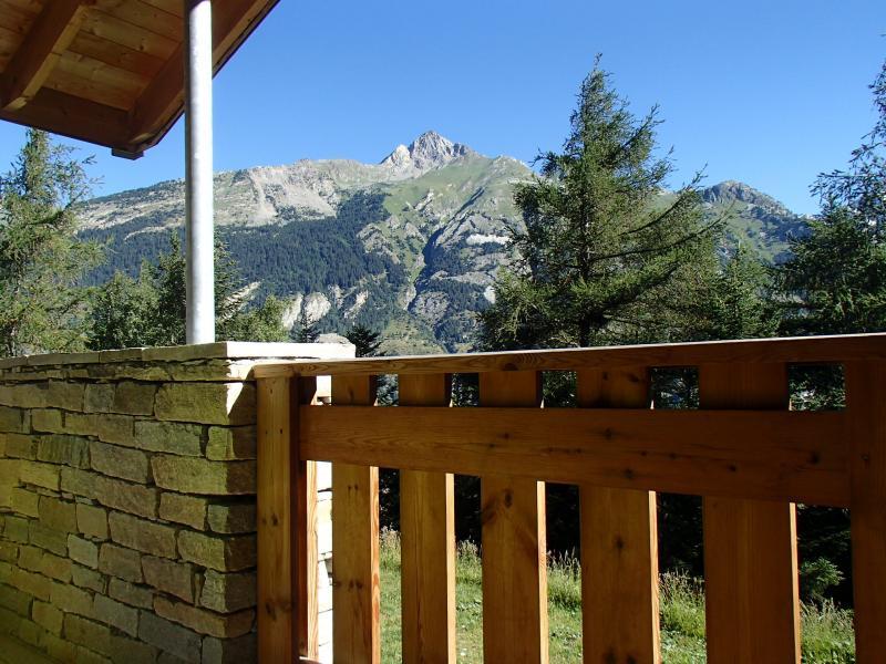 Vue du balcon Location Chalet 40769 La Norma