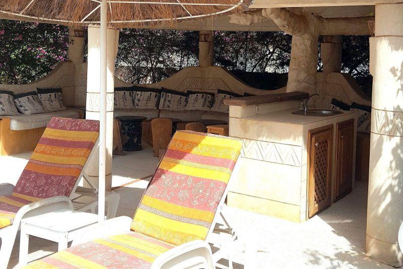 Vue extérieure de la location Location Villa 40814 Saly
