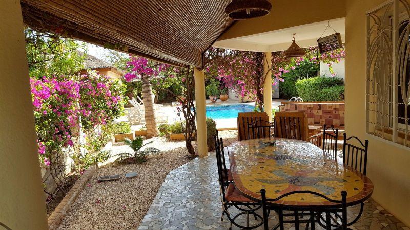 Vue de la terrasse Location Villa 40814 Saly