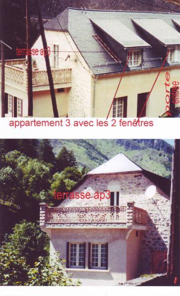 Terrasse Location Appartement 4086 Cauterets