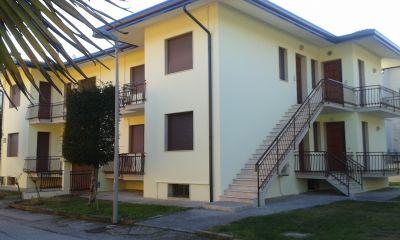 Vue ext�rieure de la location Location Appartement 41513 Eraclea Mare