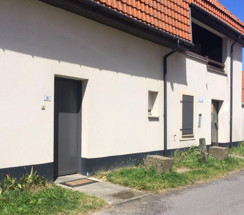 Vue extérieure de la location Location Appartement 41805 Wissant