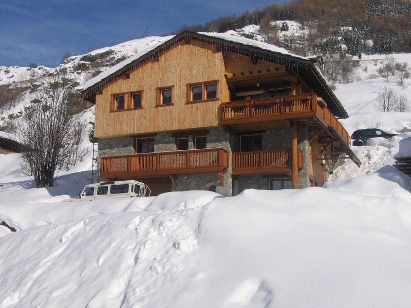 Vue extérieure de la location Location Chalet 41939 Les Menuires