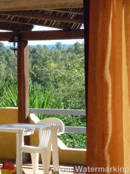 Vue du balcon Location Appartement 42309 Cardedu