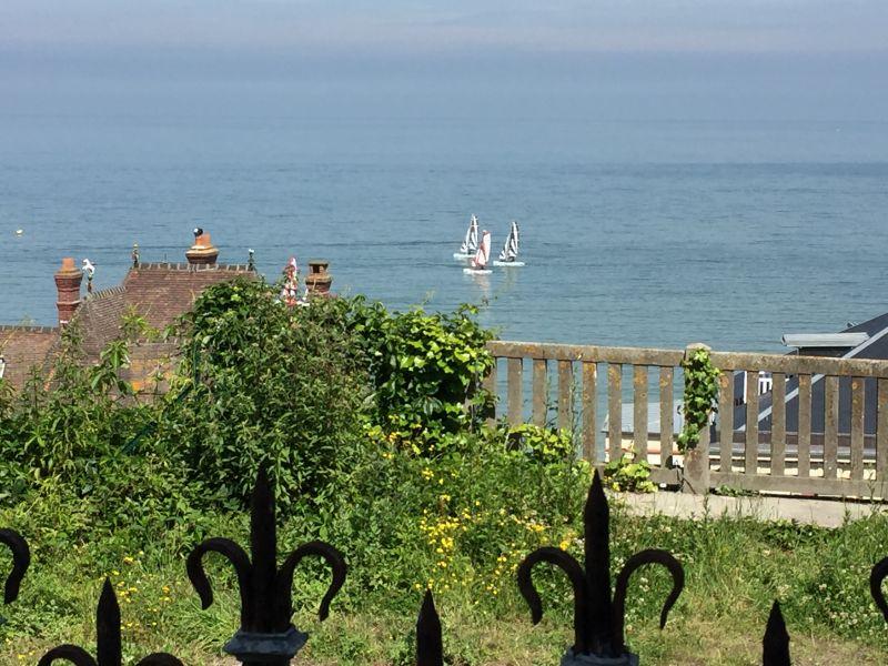 Vue de la terrasse Location Maison 42353 Villers sur Mer