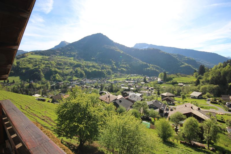 Vue du balcon Location Appartement 42356 Saint Jean d'Aulps- La Grande Terche
