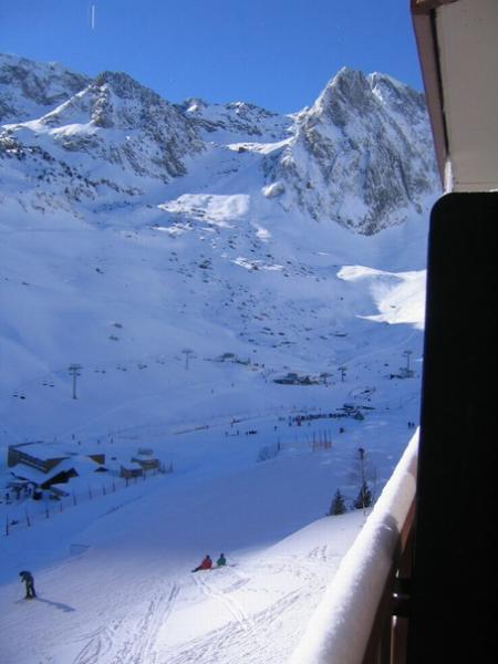 Vue du balcon Location Appartement 4297 La Mongie