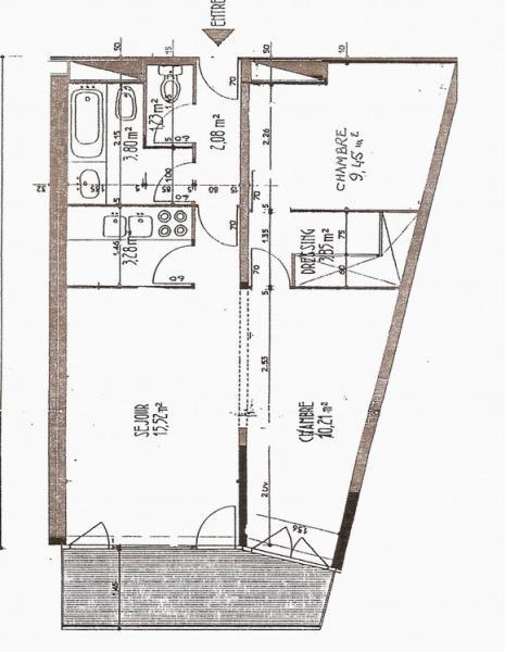 Plan de la location Location Appartement 4297 La Mongie