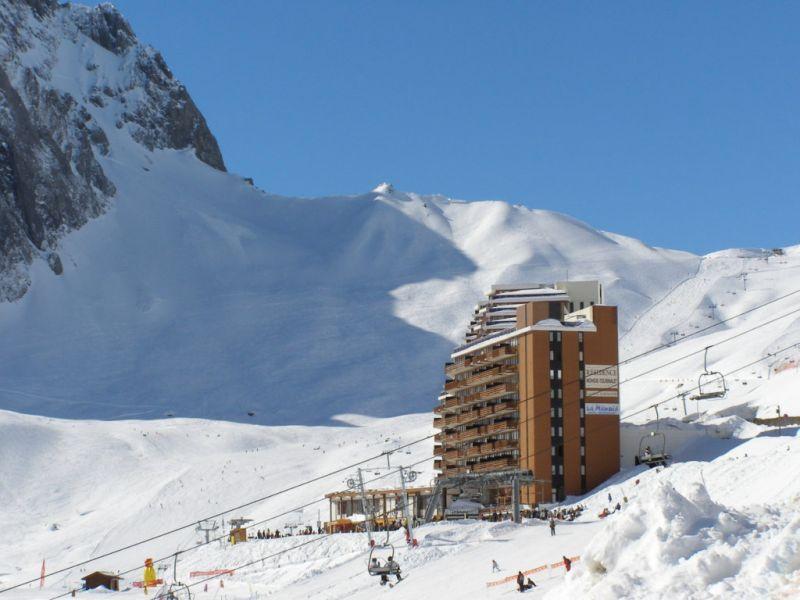 Vue extérieure de la location Location Appartement 4329 La Mongie