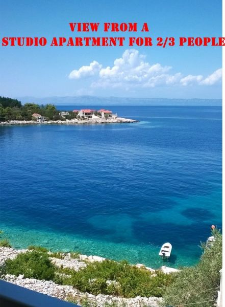 Vue depuis la location Location Maison 43628 Prigradica