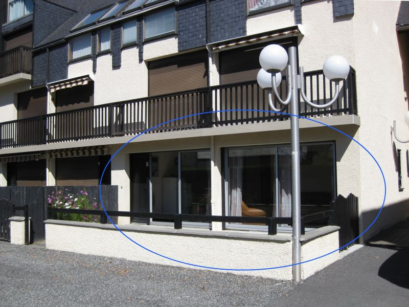 Vue extérieure de la location Location Appartement 4397 Saint Lary Soulan