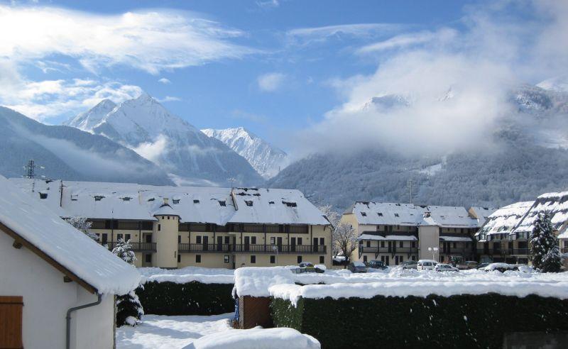 Vue du balcon Location Appartement 4397 Saint Lary Soulan