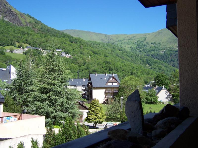 Vue de la terrasse Location Appartement 4439 Saint Lary Soulan