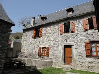 Vue ext�rieure de la location Location Maison 4447 Saint Lary Soulan