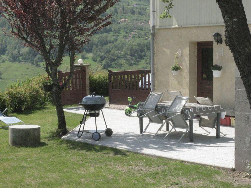Vue de la terrasse Location Gite 4549 La Bresse Hohneck