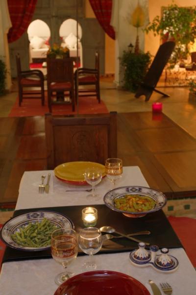 Vue depuis la location Location Chambre d'hôte 45751 Marrakech