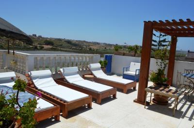 Terrasse 2 Location Villa 45810 Oualidia