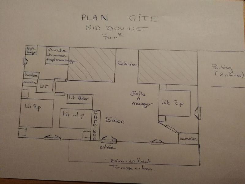 Plan de la location Location Gite 4680 Ventron