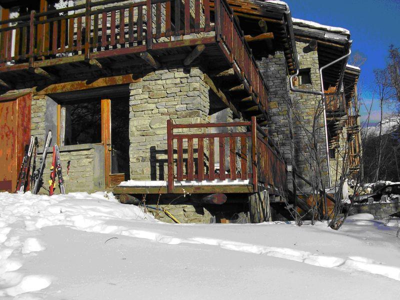 Vue extérieure de la location Location Appartement 475 Bonneval sur Arc