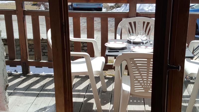 Vue depuis la location Location Appartement 475 Bonneval sur Arc