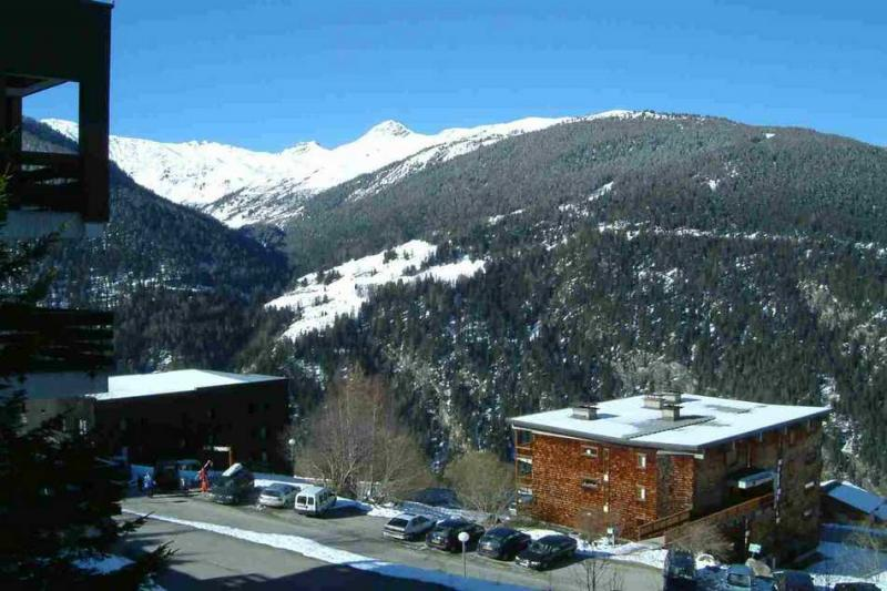 Vue du balcon Location Appartement 4750 Peisey-Vallandry