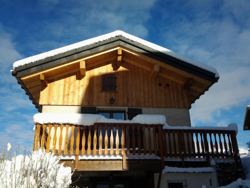 Vue extérieure de la location Location Chalet 4758 Peisey-Vallandry