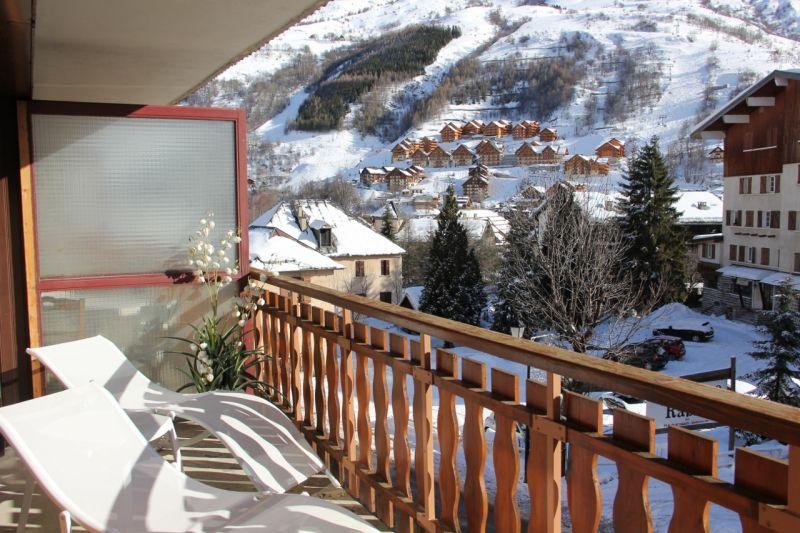 Vue de la terrasse Location Appartement 48539 Valloire