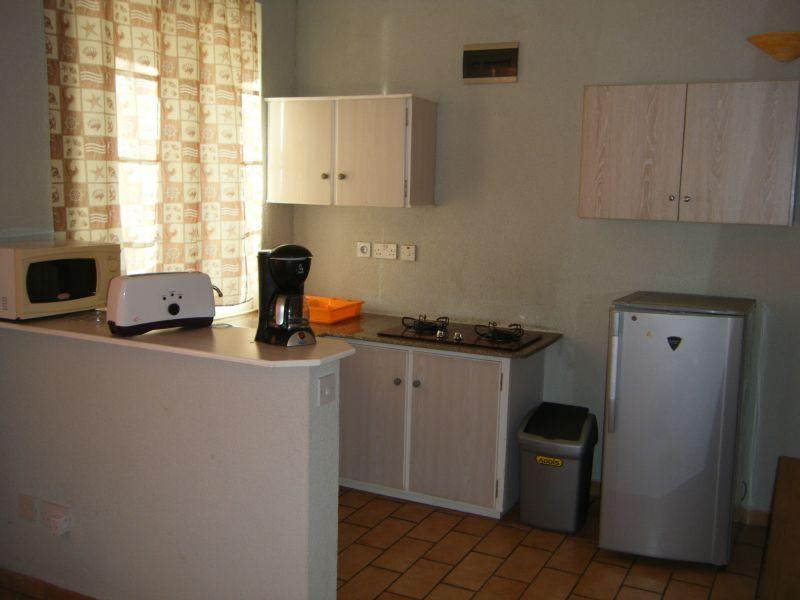 Coin cuisine Location Appartement 48721 Pointe Aux Piments