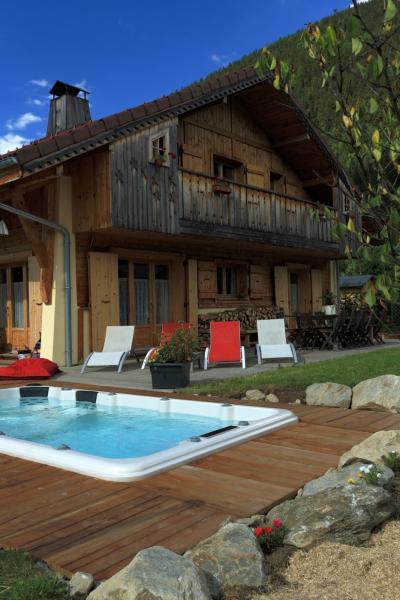 Jardin Location Chalet 48749 Saint Gervais Mont-Blanc