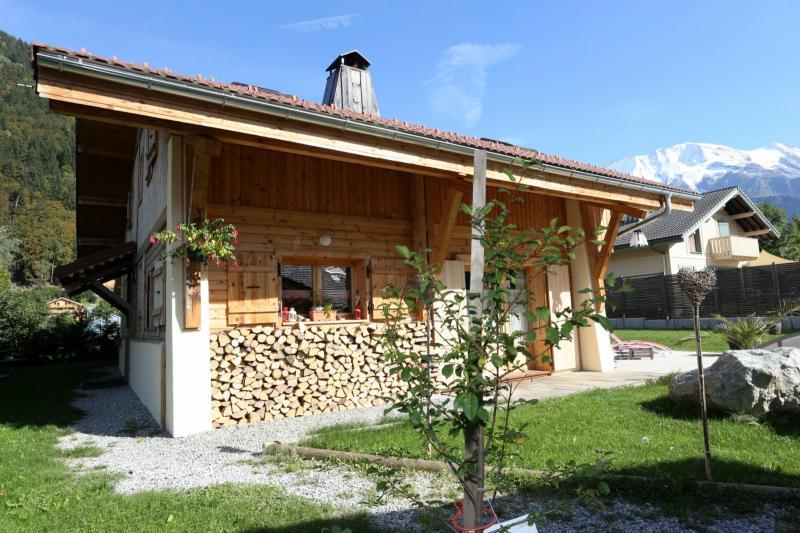 Vue extérieure de la location Location Chalet 48749 Saint Gervais Mont-Blanc