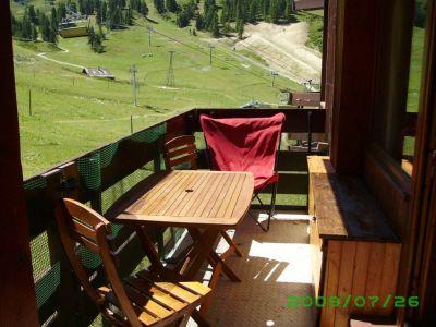 Vue du balcon Location Studio 48754 La Plagne