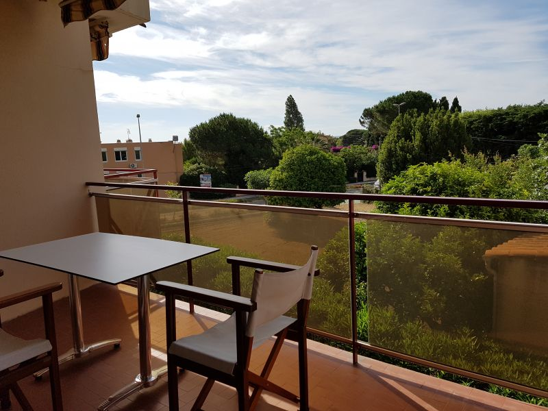 Vue du balcon Location Appartement 48959 Le Lavandou