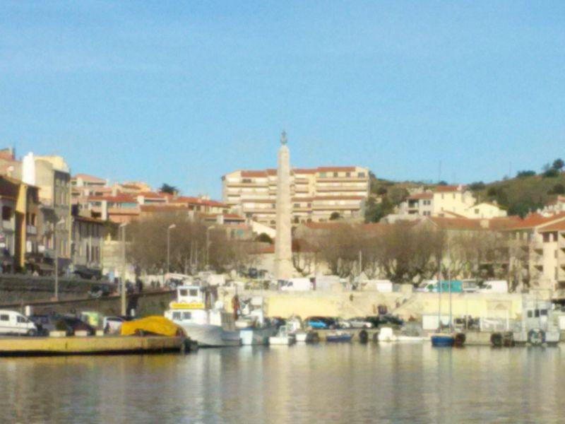 Vue extérieure de la location Location Appartement 49274 Collioure