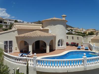 Vue ext�rieure de la location Location Villa 49775 Moraira