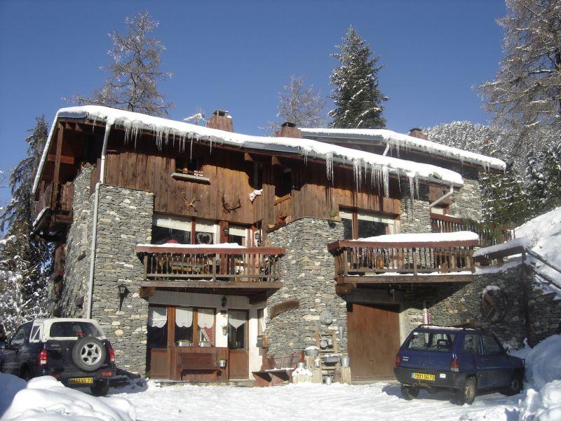 Vue extérieure de la location Location Appartement 49989 Valfréjus