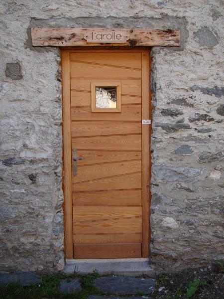 Entrée Location Chalet 50116 Peisey-Vallandry