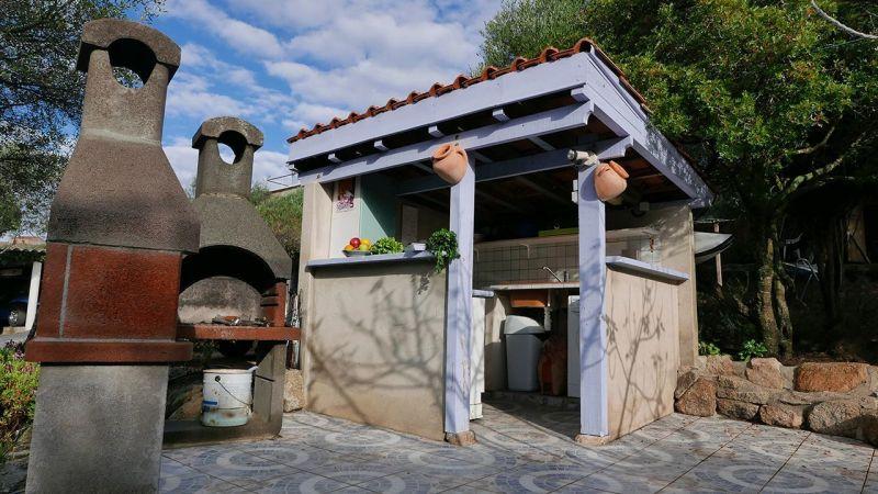 Cuisine d'été Location Appartement 50333 Porto Pollo