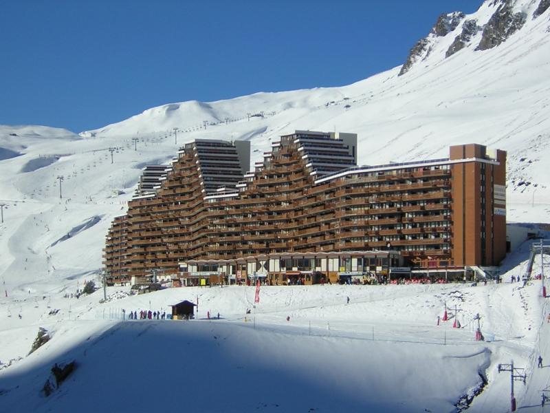 Vue extérieure de la location Location Appartement 50729 La Mongie