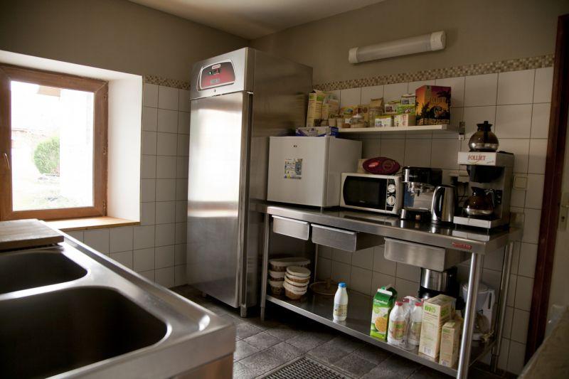 Cuisine d'été Location Gite 50737 Les Saisies