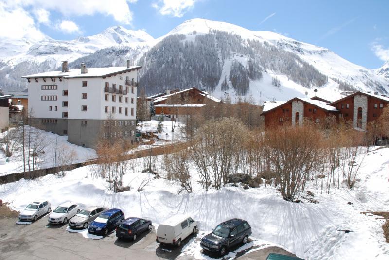 Vue du balcon Location Appartement 50921 Val d'Isère