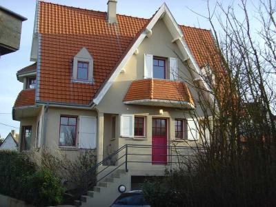 Vue extérieure de la location Location Villa 50973 Wissant