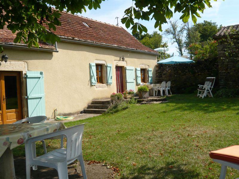 Jardin Location Gite 51135 Saint-Cirq-Lapopie