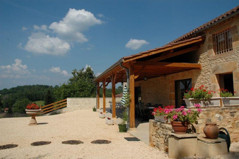 Terrasse Location Gite 51192 Villefranche du Périgord