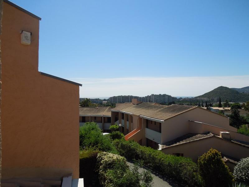 Vue de la terrasse Location Appartement 51200 Mandelieu la Napoule