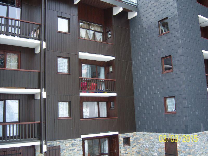 Vue extérieure de la location Location Appartement 52183 Les Menuires