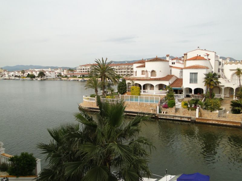 Vue de la terrasse Location Appartement 52193 Empuriabrava