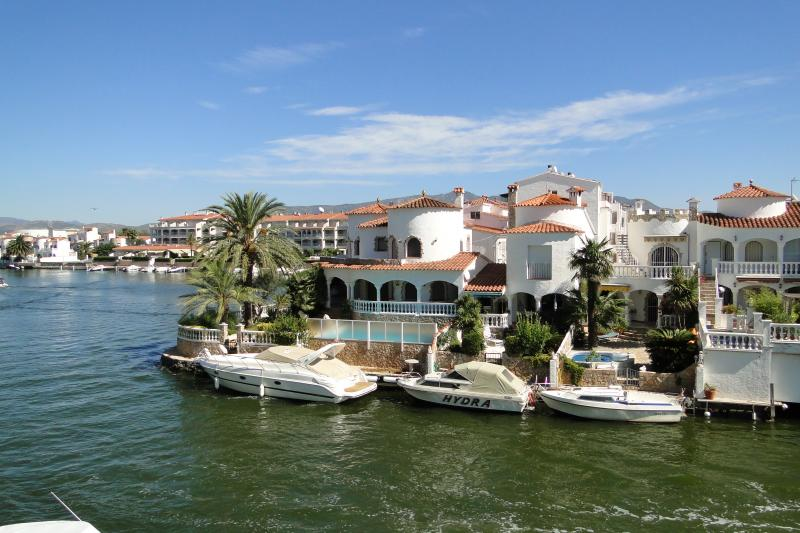 Vue du balcon Location Appartement 52193 Empuriabrava