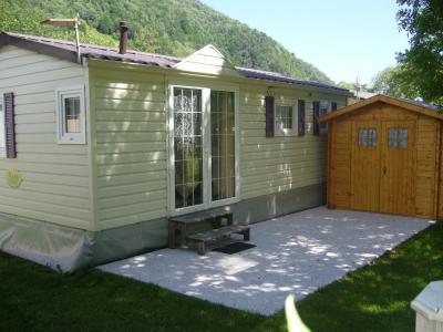 Vue ext�rieure de la location Location Mobil-home 52208 Cauterets